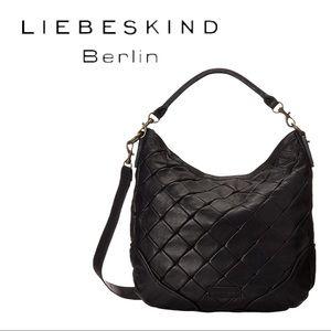 Liebeskind Berlin | Debbie Woven Leather Crossbody Bag